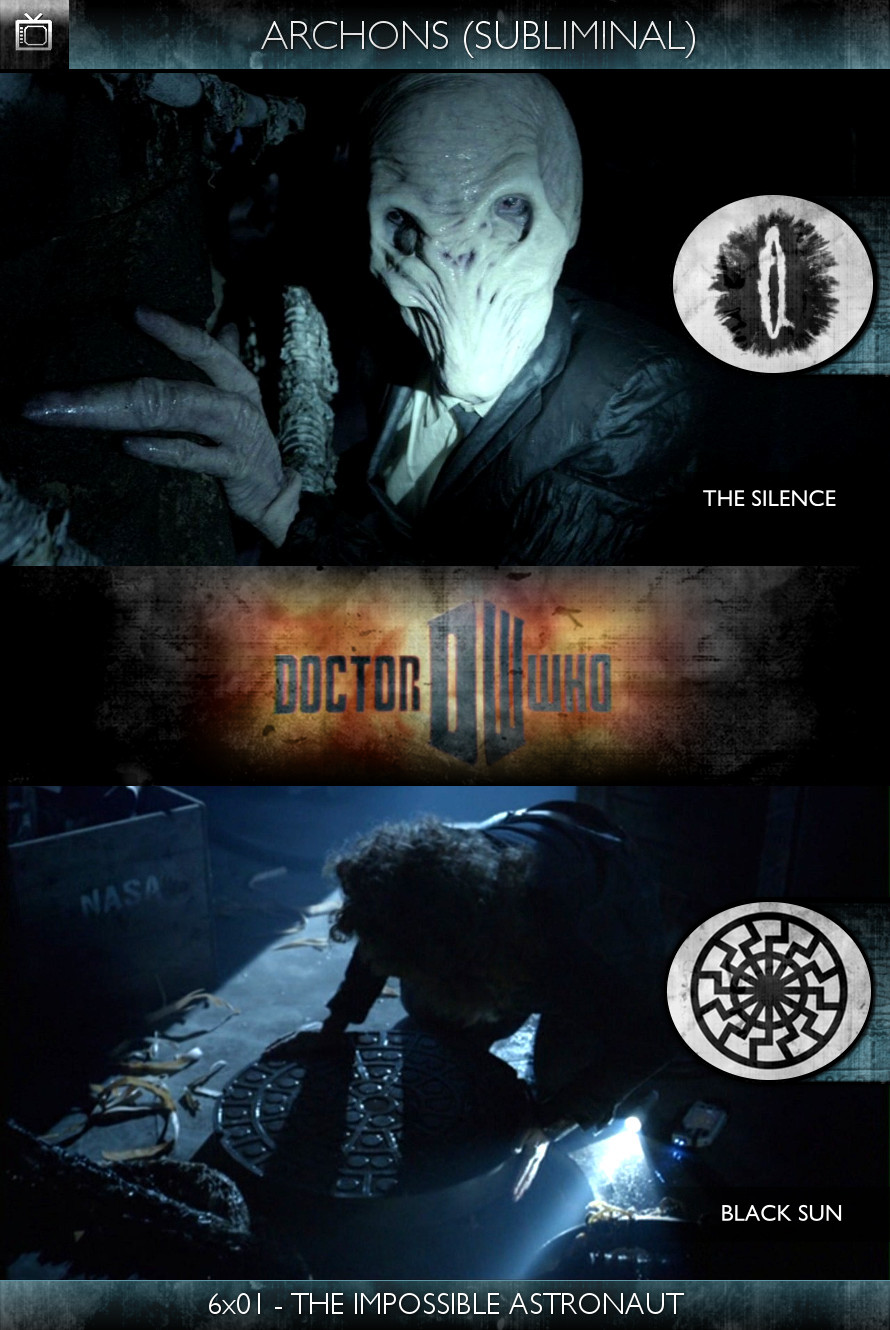 Archons - Doctor Who (2010) - 6x01-The Impossible Astronaut - The Silence