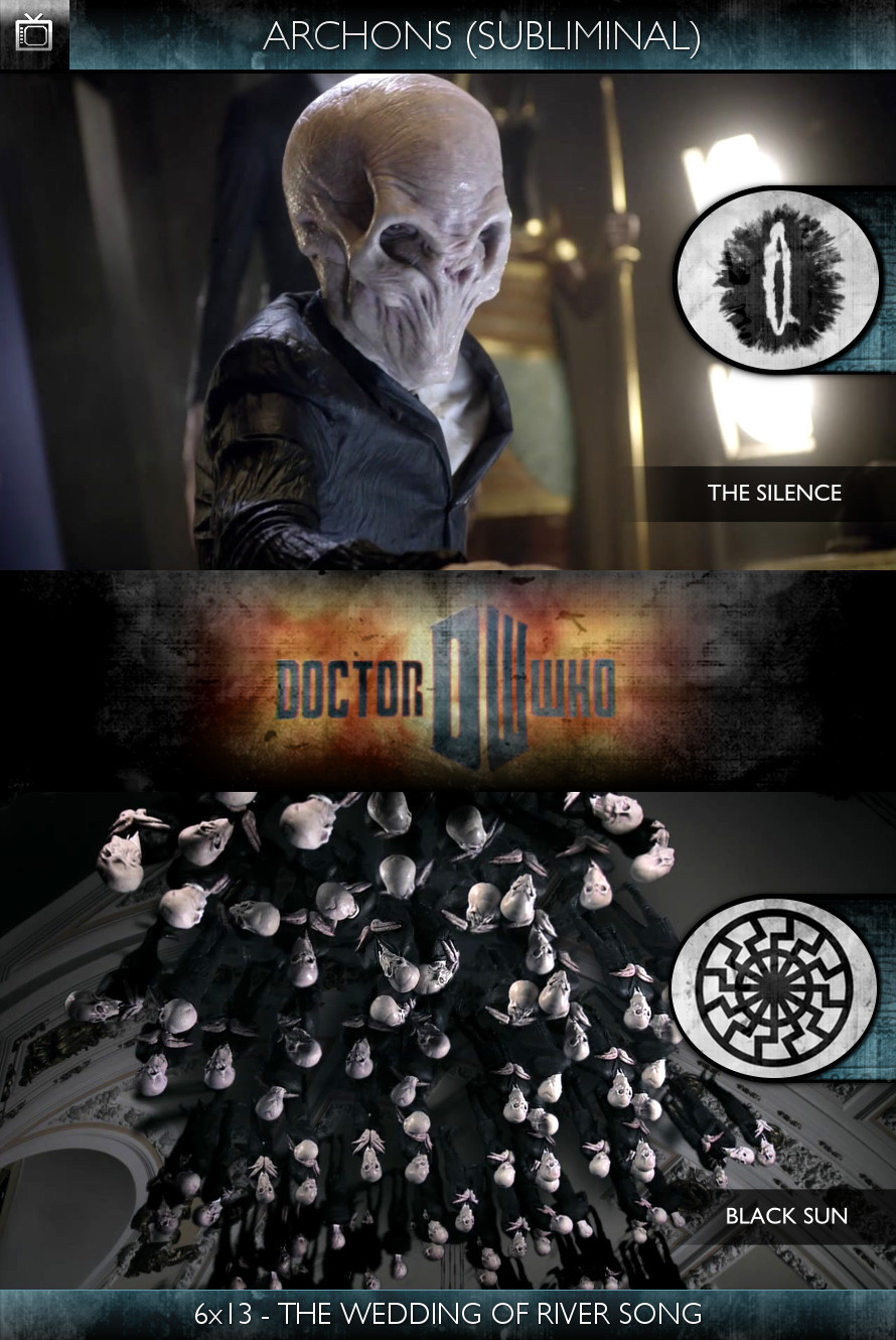 Archons - Doctor Who (2010) - 6x13 - The Wedding of River Song - The Silence