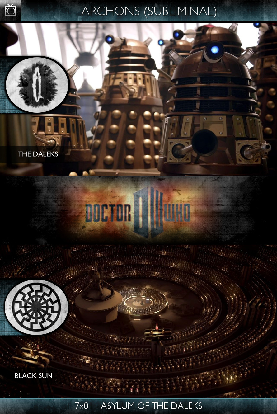 Archons - Doctor Who (2010) - 7x01 - Asylum of the Daleks - The Daleks