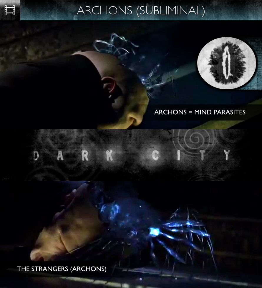 Dark City (1998) - Archons (The Strangers)