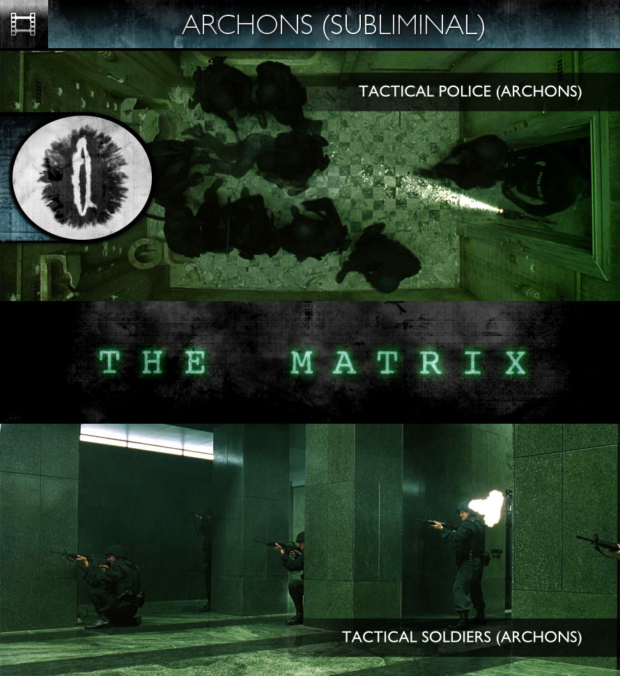 The Matrix (1999) - Archons (Tactical Police & Tactical Soldiers)