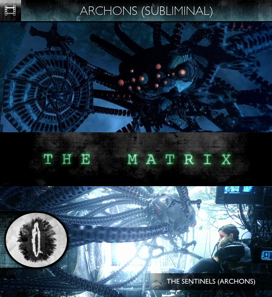 The Matrix (1999) - Archons (The Sentinels)