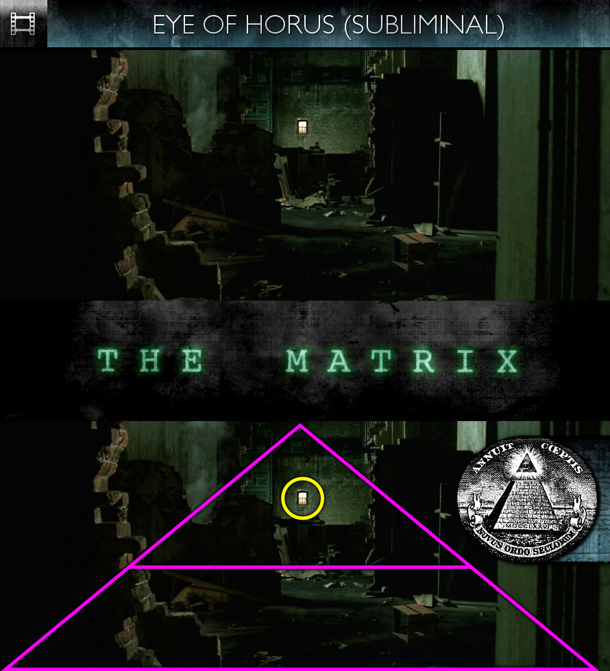 The Matrix (1999) - Eye of Horus - Subliminal