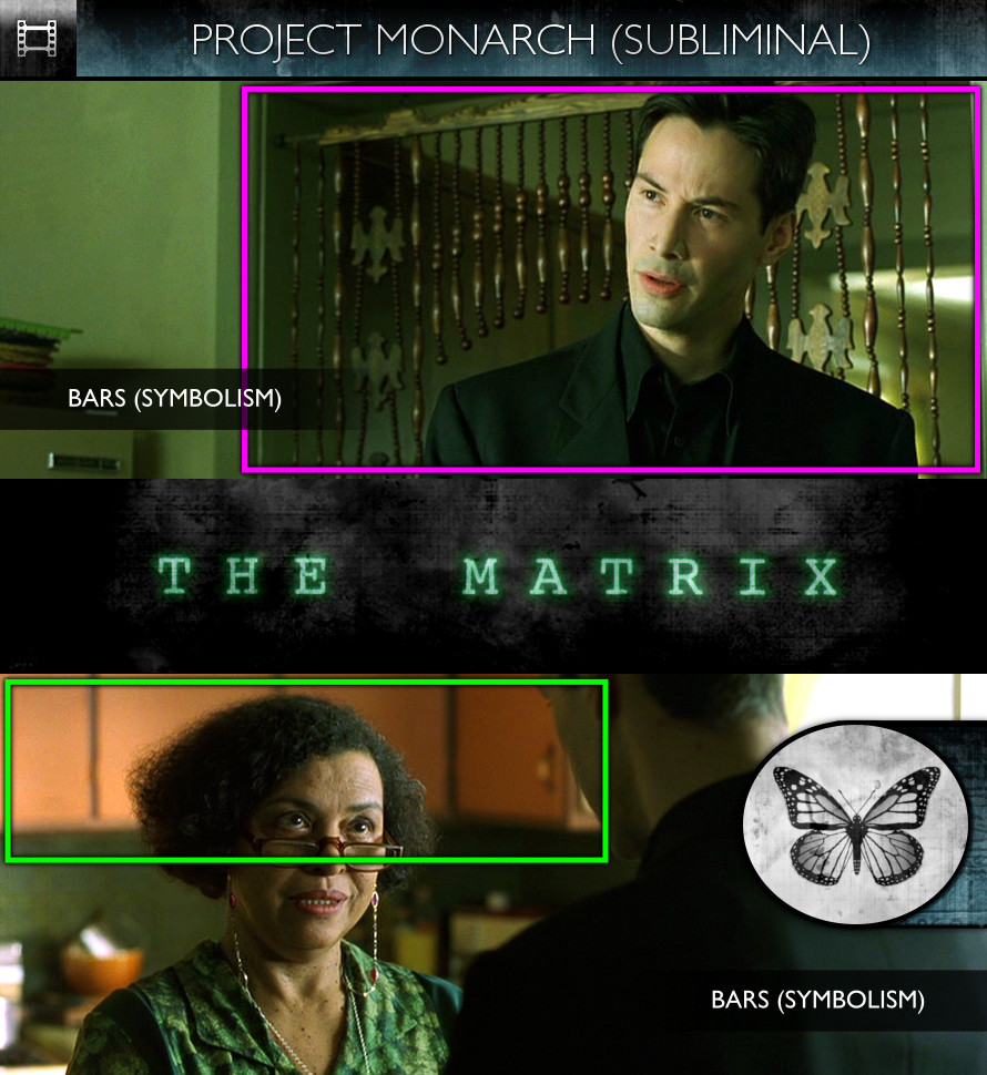 The Matrix (1999) - Project Monarch - Subliminal