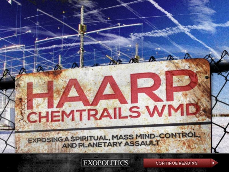 Exopolitics - HAARP-Chemtrails