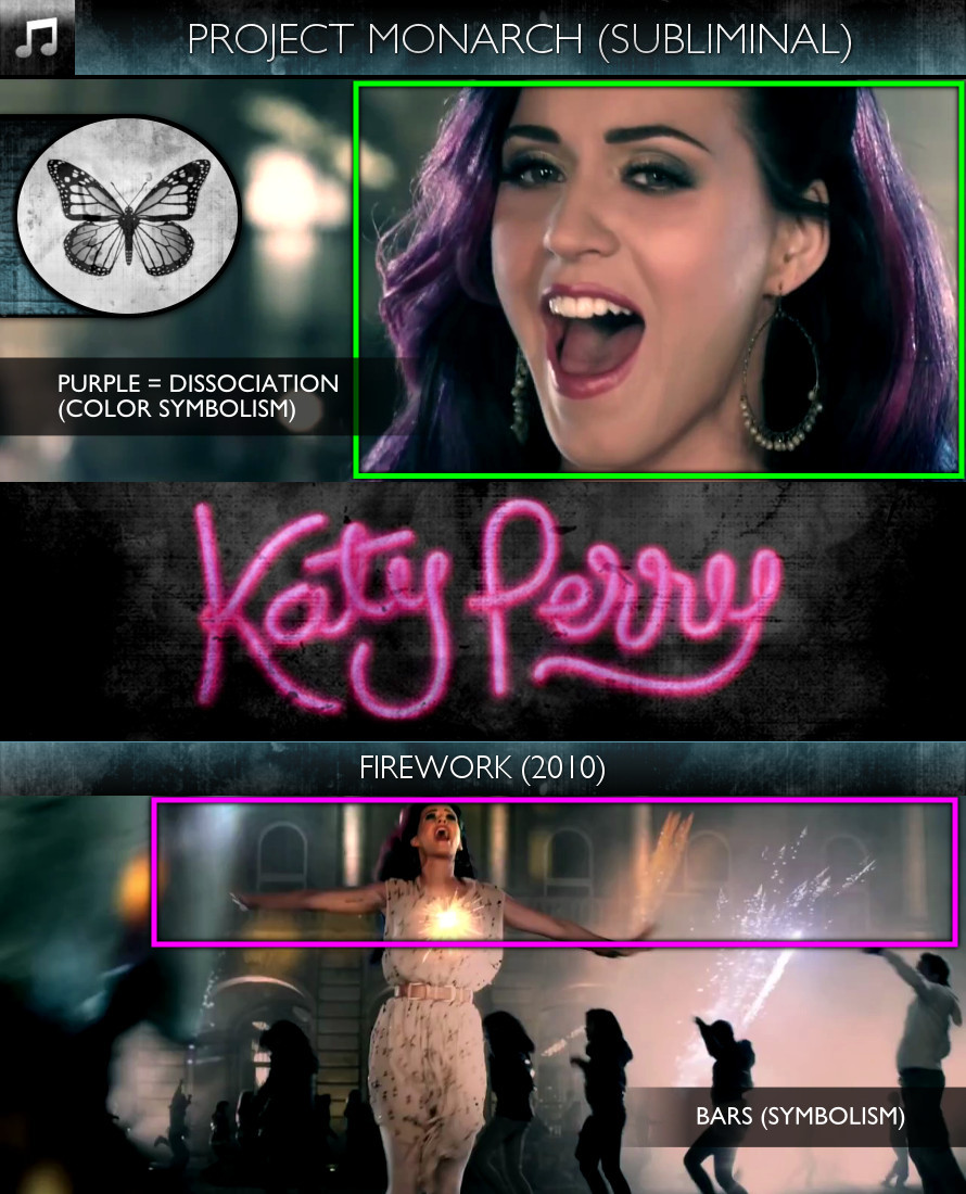 Katy Perry - Firework (2010) - Project Monarch - Subliminal