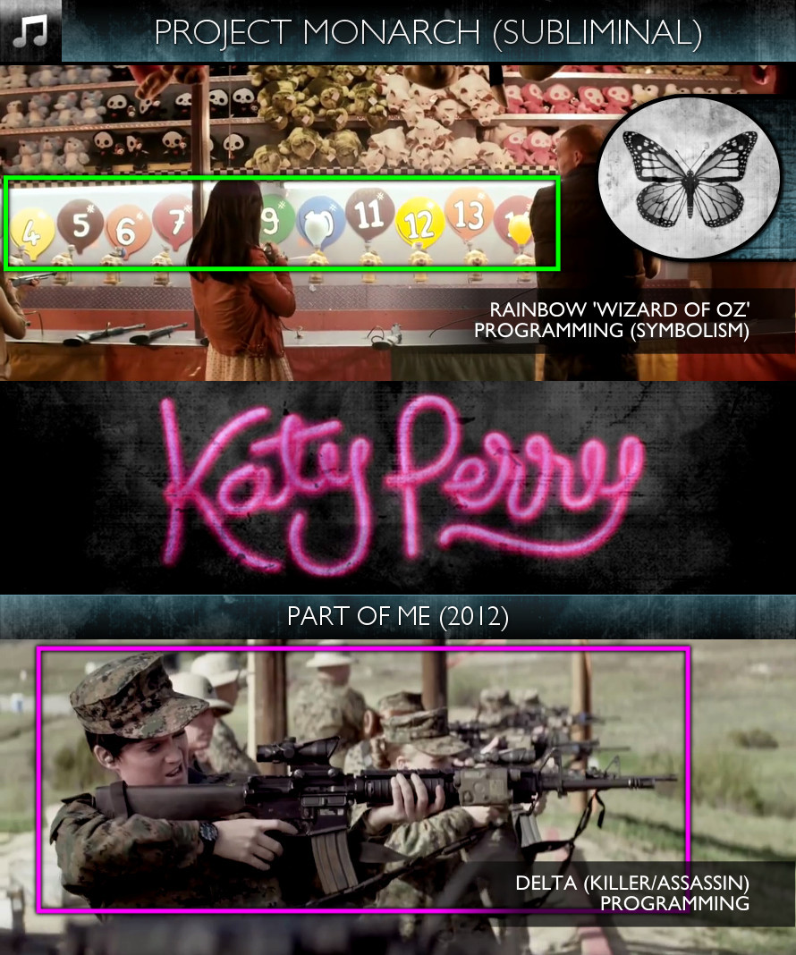 Katy Perry - Part of Me (2012) - Project Monarch - Subliminal
