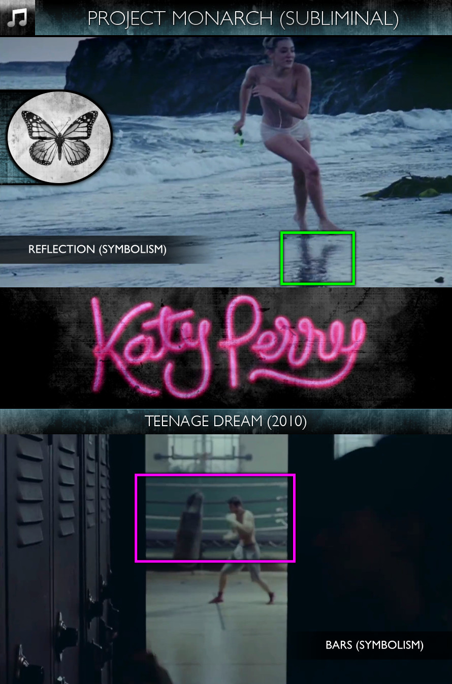 Katy Perry - Teenage Dream (2010) - Project Monarch - Subliminal