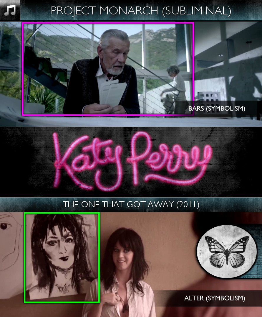 Katy Perry - The One That Got Away (2011) - Project Monarch - Subliminal