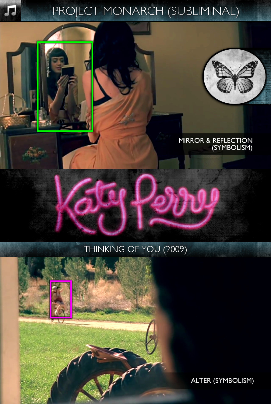 Katy Perry - Thinking of You (2009) - Project Monarch - Subliminal