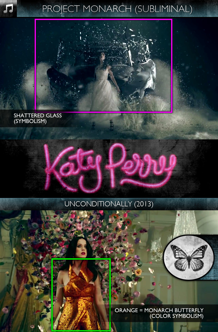 Katy Perry - Unconditionally (2013) - Project Monarch - Subliminal