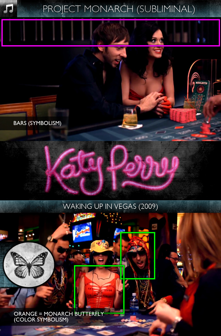 Katy Perry - Waking Up in Vegas (2009) - Project Monarch - Subliminal