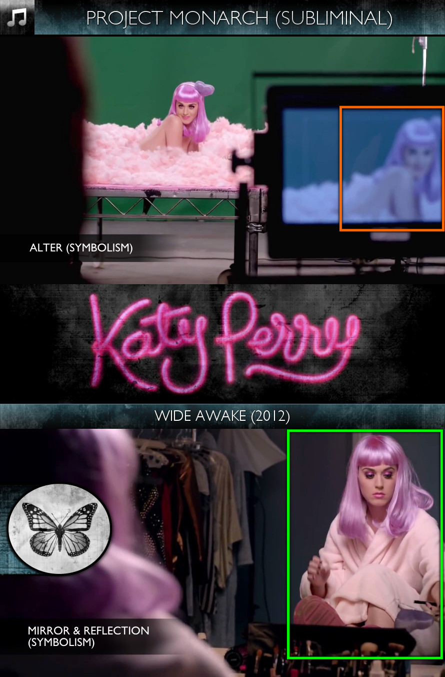 Katy Perry - Wide Awake (2012) - Project Monarch - Subliminal