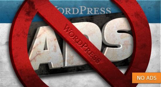 No Ads - WordPress