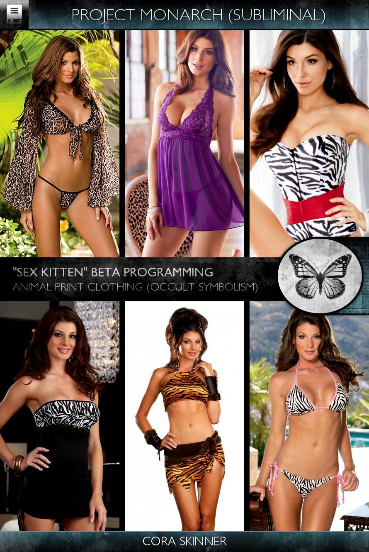 Project Monarch - Sex Kitten (Beta Programming) - Models - Cora Skinner
