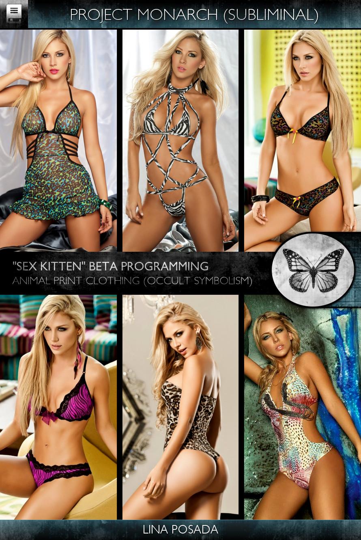 Project Monarch - Sex Kitten (Beta Programming) - Models - Lina Posada