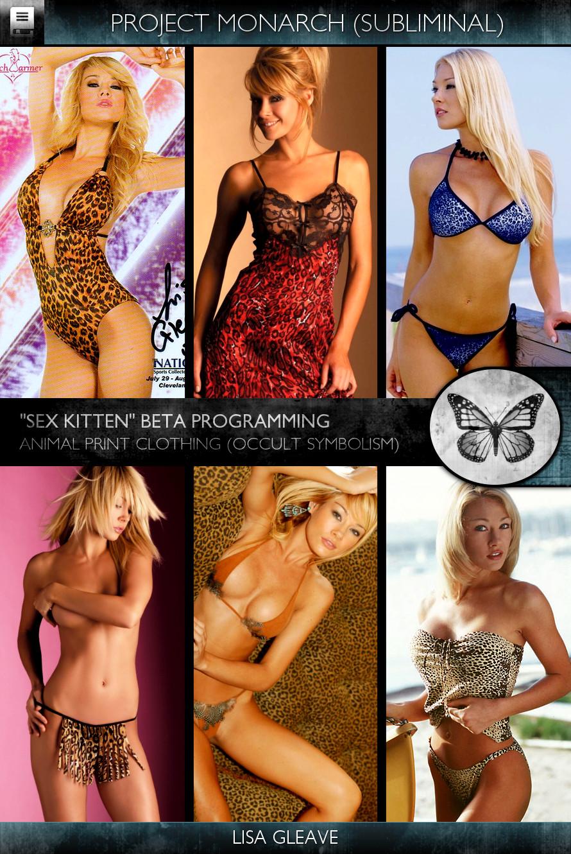 Project Monarch - Sex Kitten (Beta Programming) - Models - Lisa Gleave