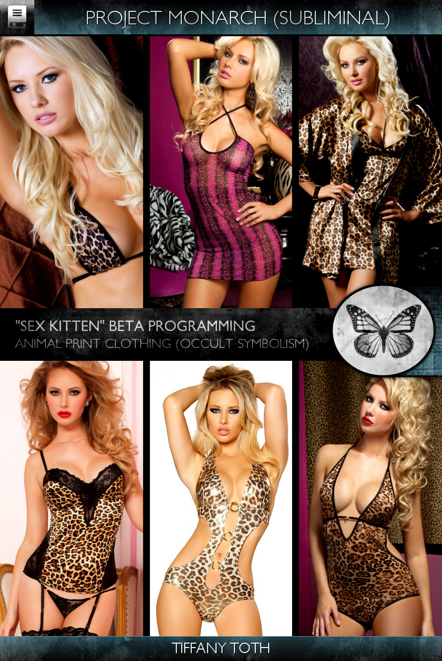 Project Monarch - Sex Kitten (Beta Programming) - Models - Tiffany Toth