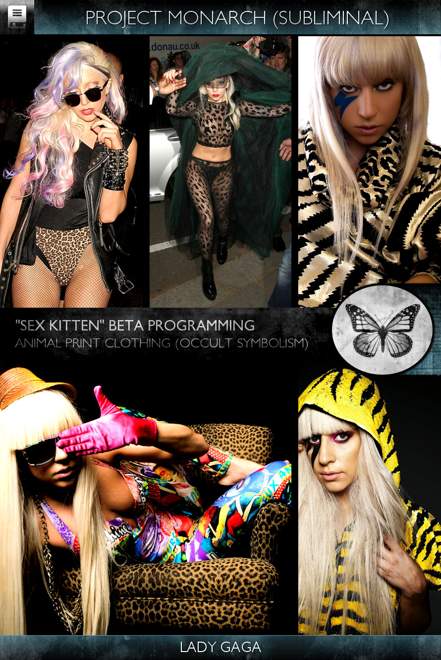 Project Monarch - Sex Kitten (Beta Programming) - Singers - Lady Gaga