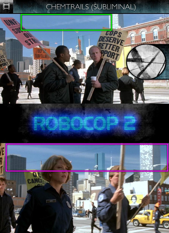 RoboCop 2 (1990) - Chemtrails - Subliminal