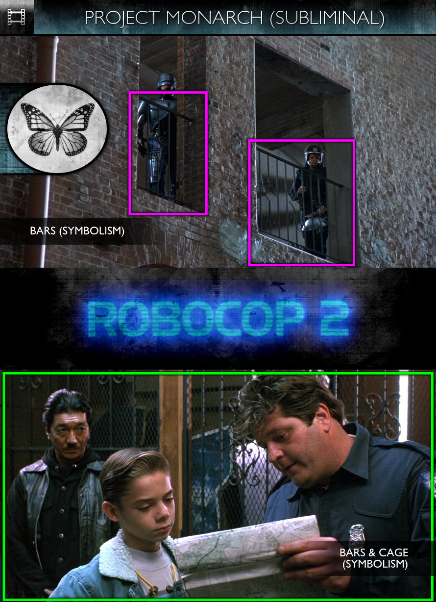 RoboCop 2 (1990) - Project Monarch - Subliminal