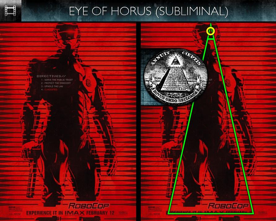 RoboCop (2014) - Poster - Eye of Horus - Subliminal