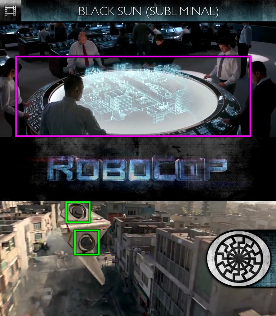 RoboCop (2014) - Trailer - Black Sun - Subliminal