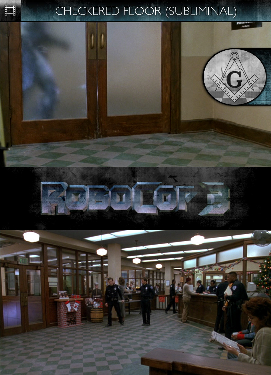 RoboCop 3 (1993) - Checkered Floor - Subliminal