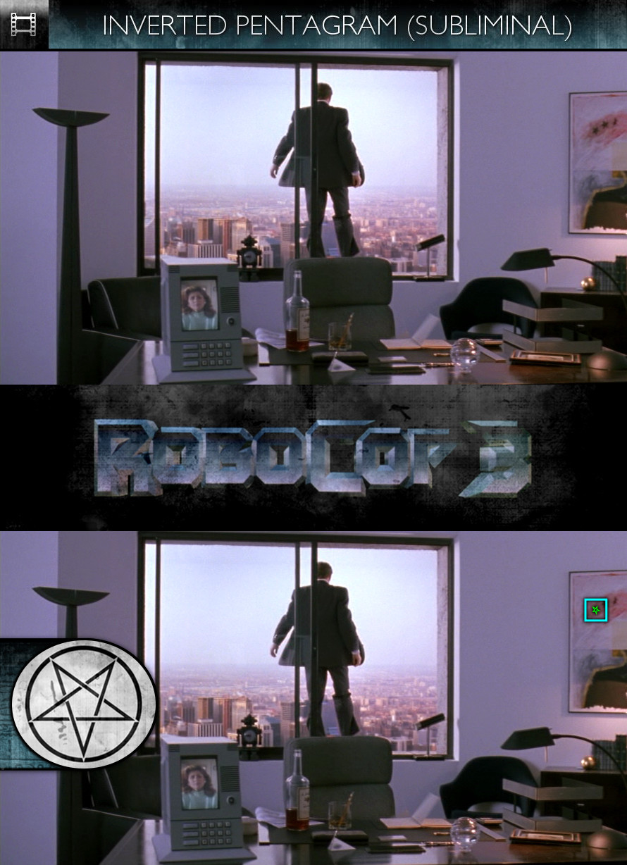 RoboCop 3 (1993) - Inverted Pentagram - Subliminal