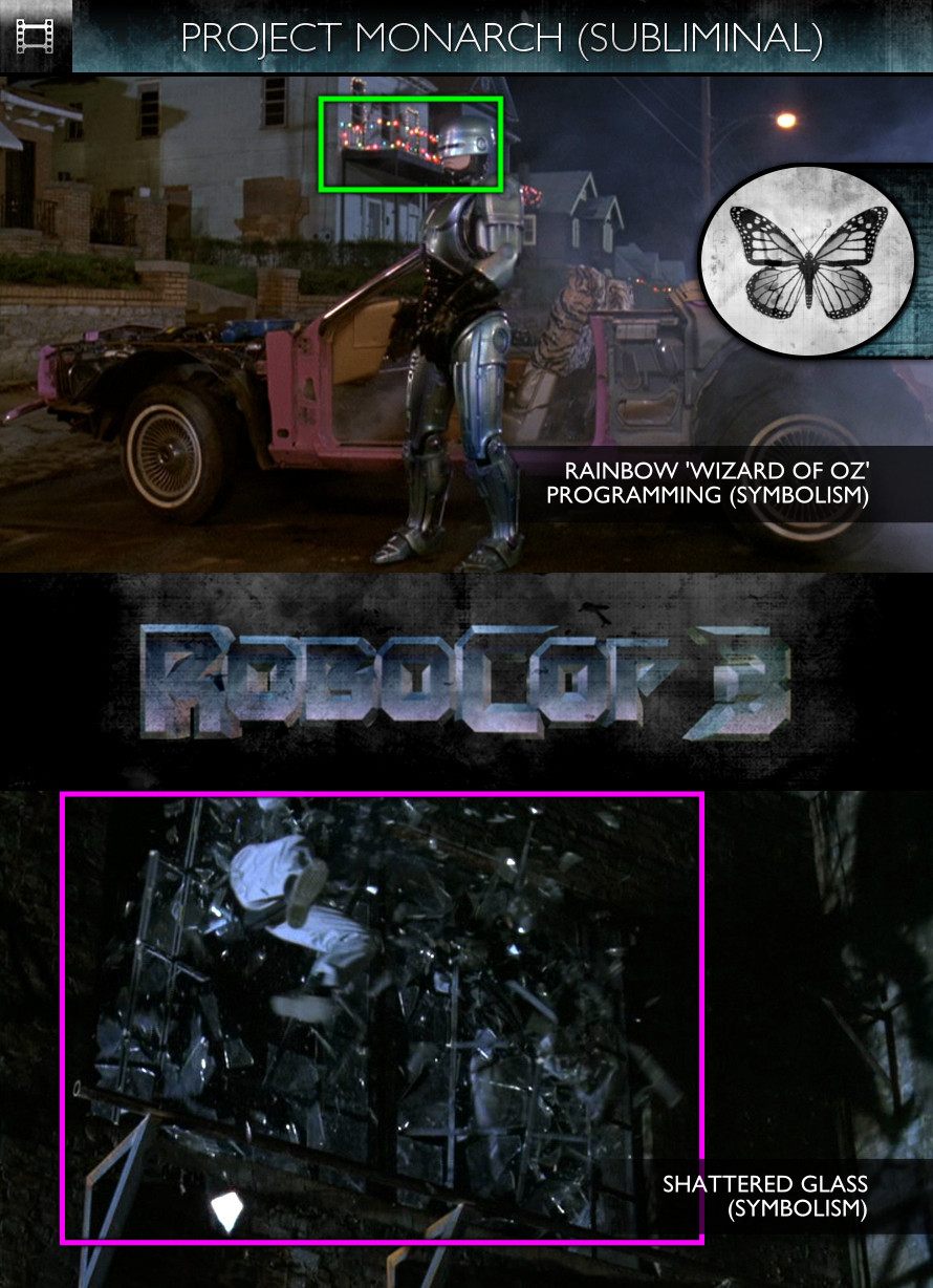 RoboCop 3 (1993) - Project Monarch - Subliminal