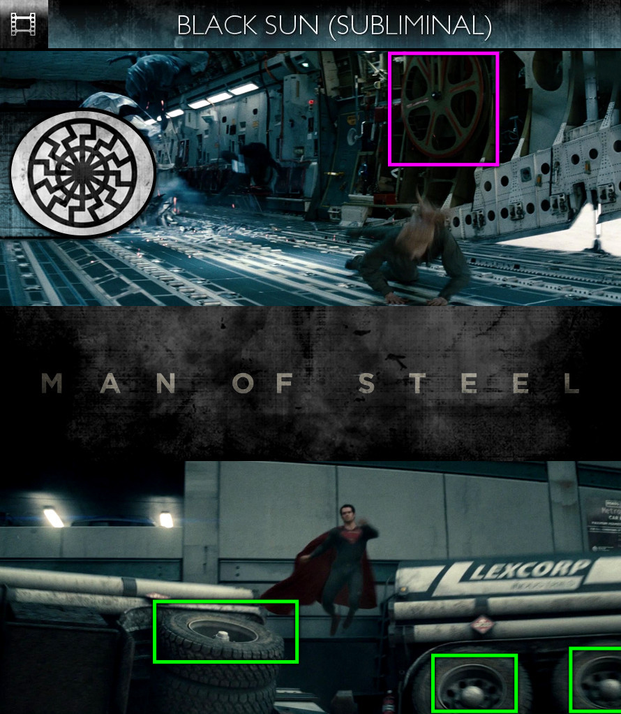 Man of Steel (2013) - Black Sun - Subliminal