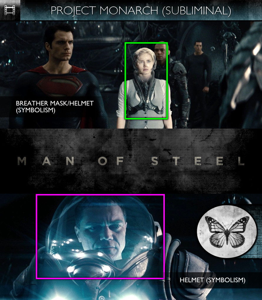 Man of Steel (2013) - Project Monarch - Subliminal