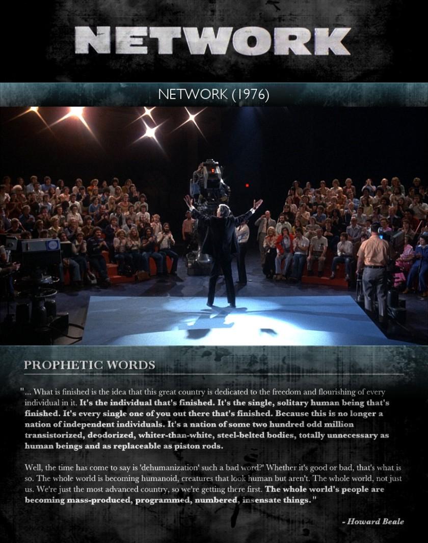Network (1976) - Prophetic Words