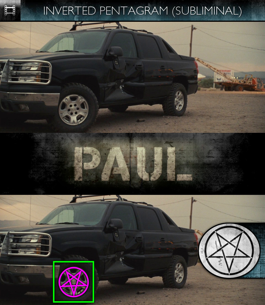 Paul (2011) - Inverted Pentagram - Subliminal