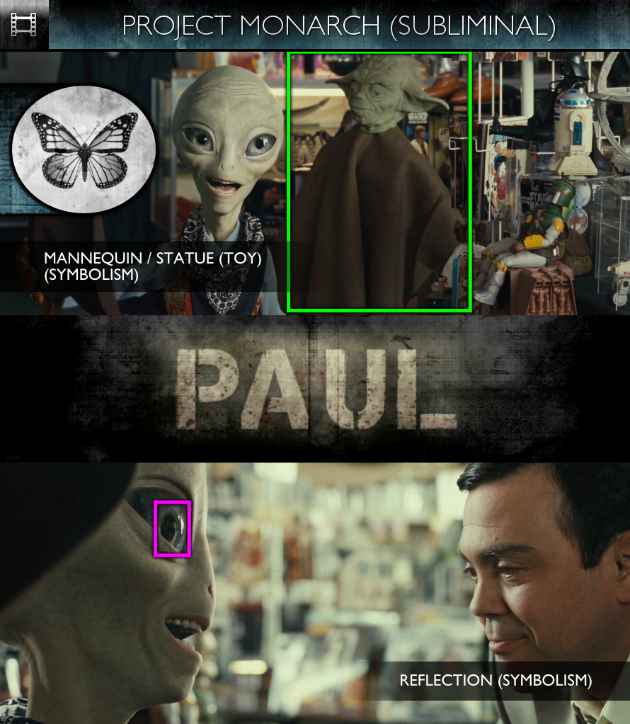 Paul (2011) - Project Monarch - Subliminal