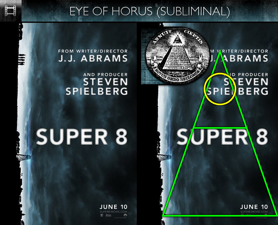 Super 8 (2011) - Poster - Eye of Horus - Subliminal