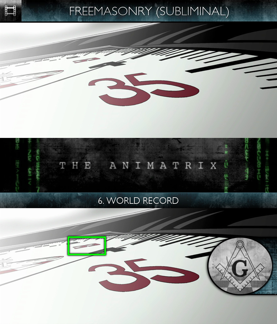 The Animatrix (2003) - Freemasonry - Subliminal
