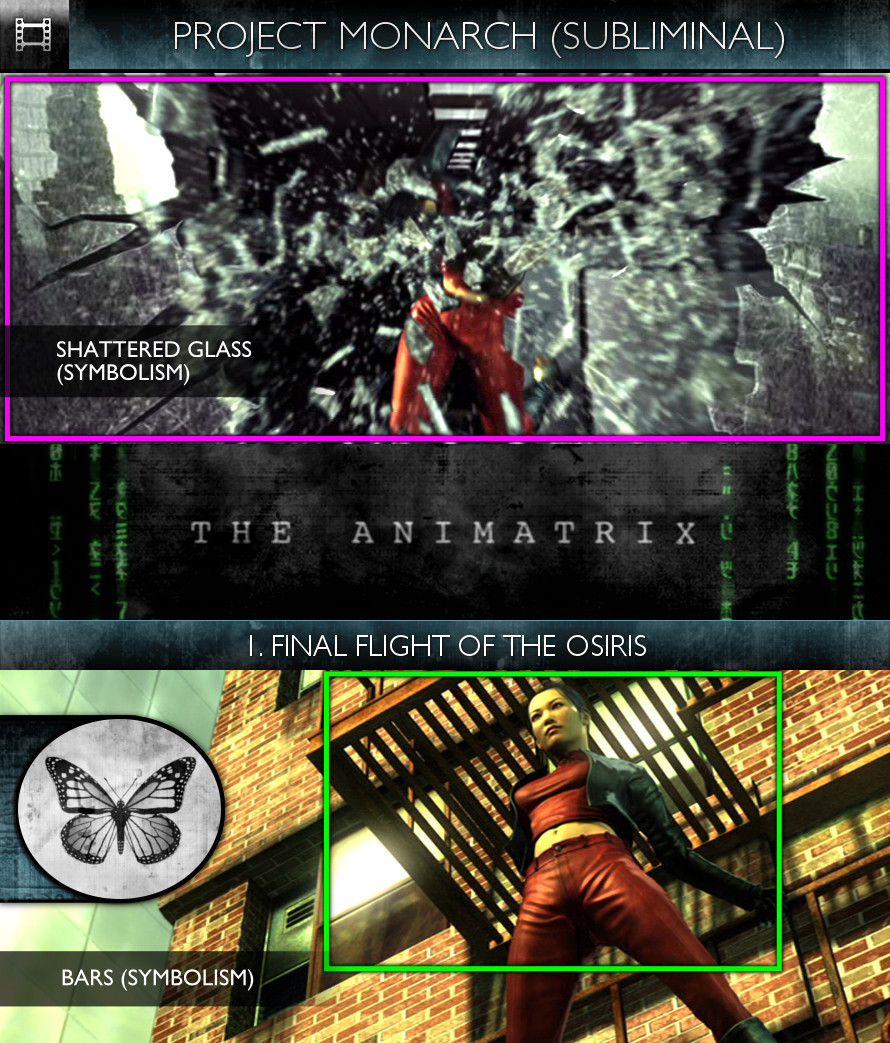The Animatrix (2003) - Project Monarch-3