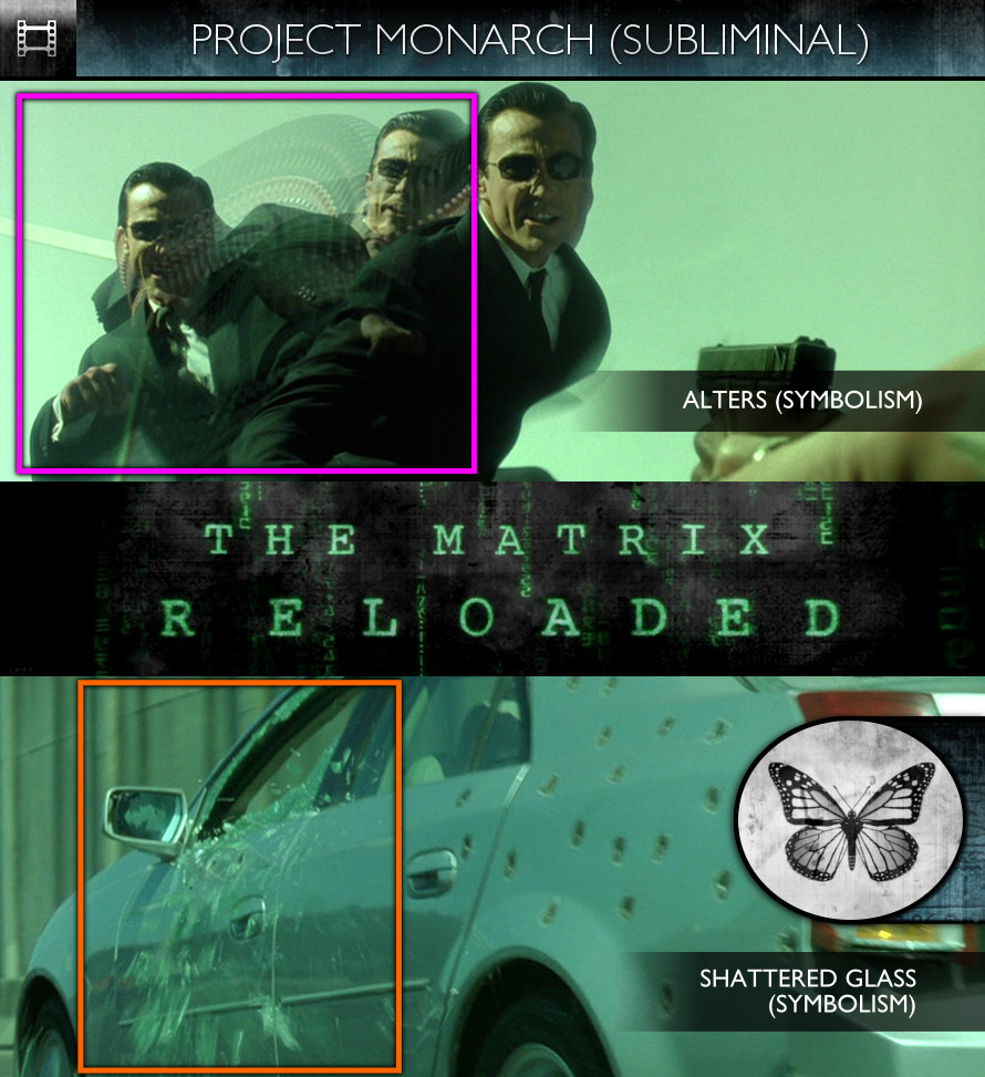 The Matrix Reloaded (2003) - Project Monarch - Subliminal