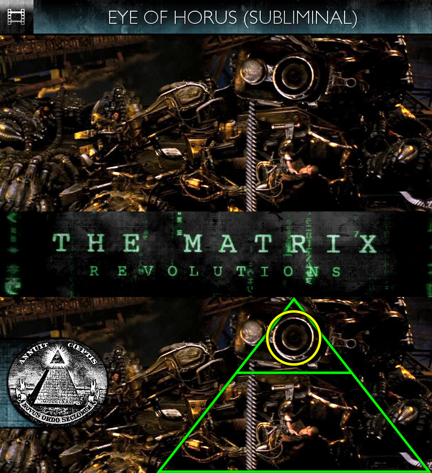 The Matrix Revolutions (2003) - Eye of Horus - Subliminal