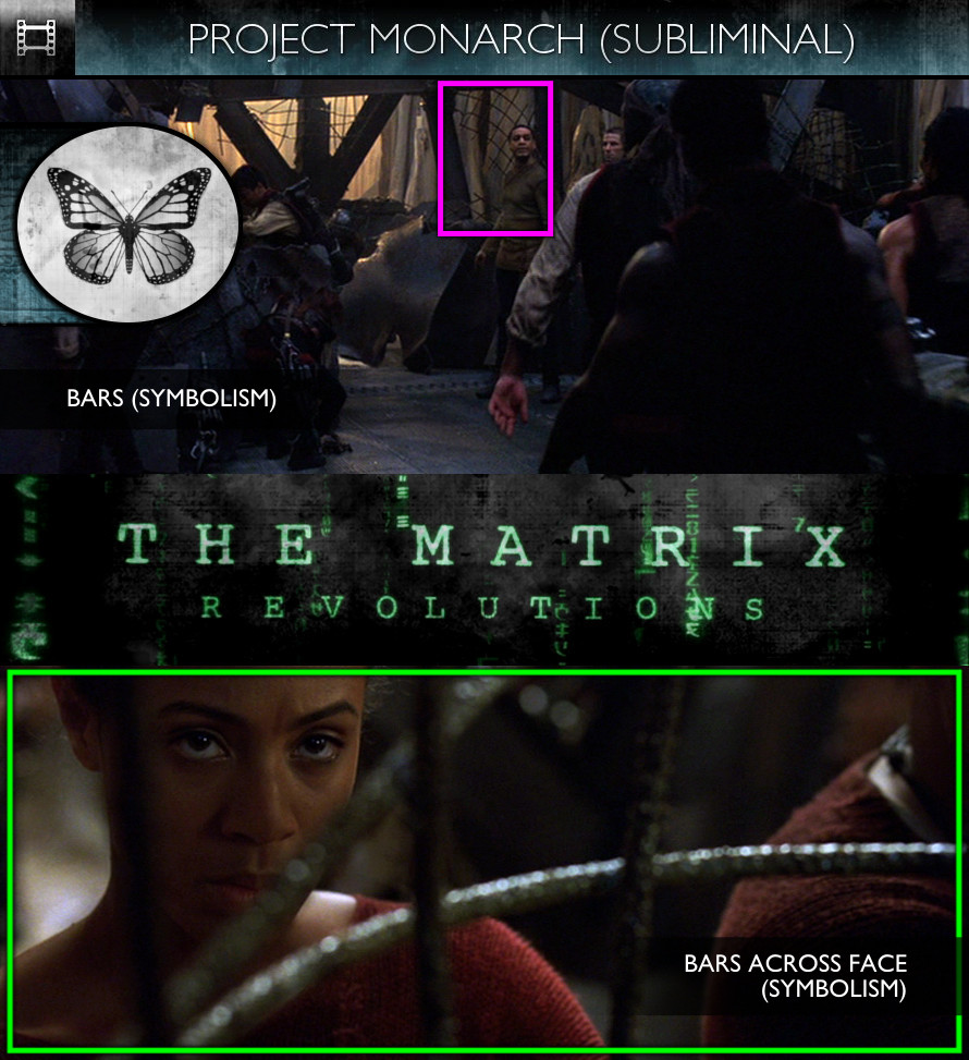 The Matrix Revolutions (2003) - Project Monarch - Subliminal