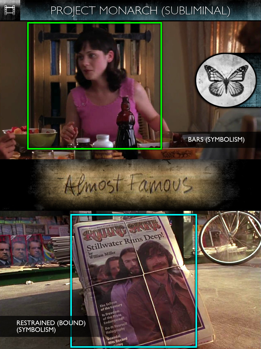 Almost Famous (2000) - Project Monarch - Subliminal