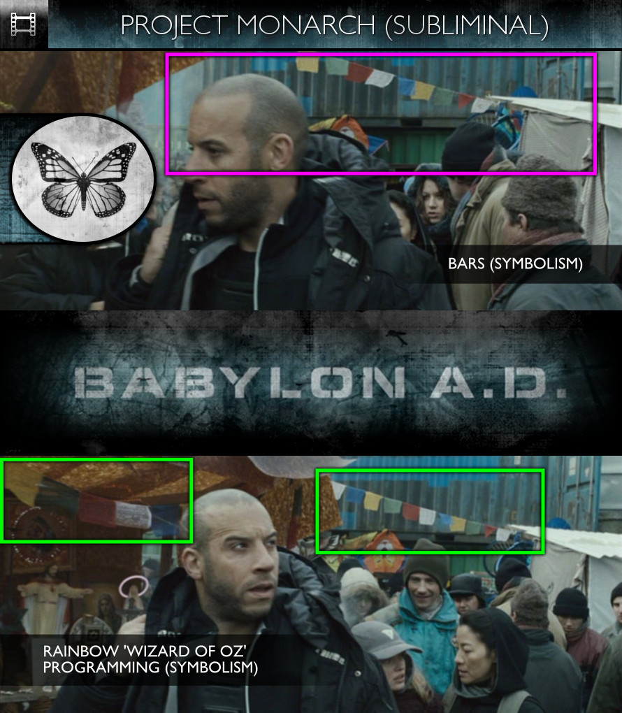 Babylon A.D. (2008) - Project Monarch - Subliminal