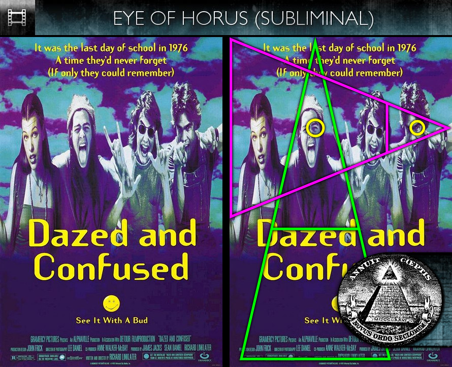 Dazed and Confused (1993) - - Poster - Eye of Horus - Subliminal