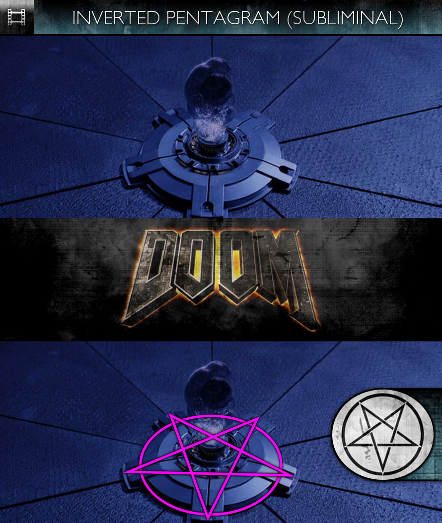 Doom (2005) - Inverted Pentagram - Subliminal