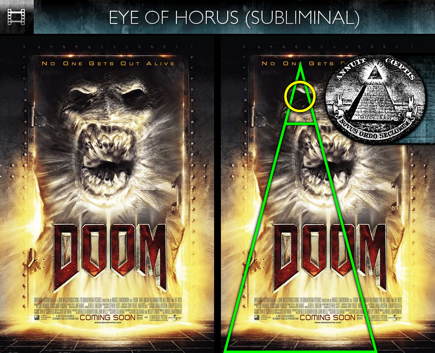 Doom (2005) - Poster - Eye of Horus - Subliminal