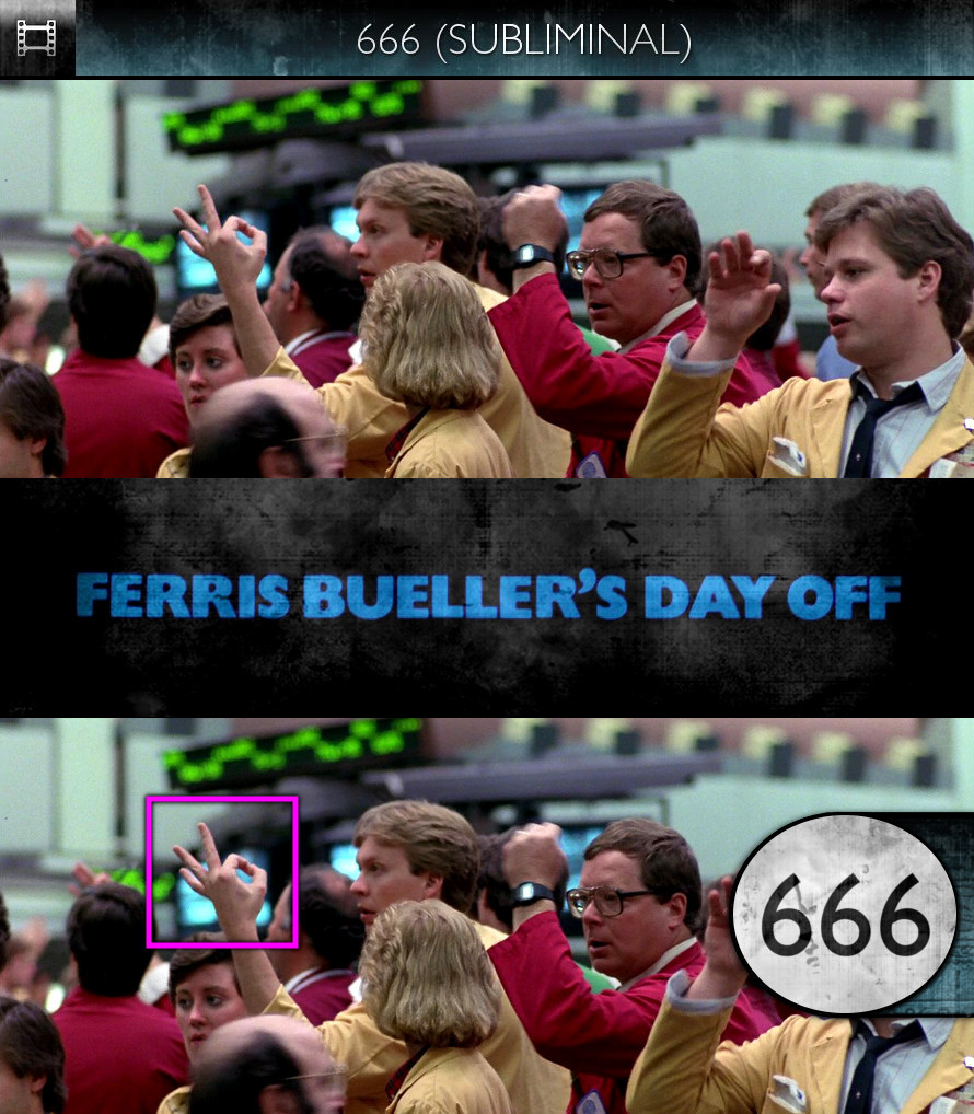 Ferris Bueller's Day Off (1986) - 666 - Subliminal