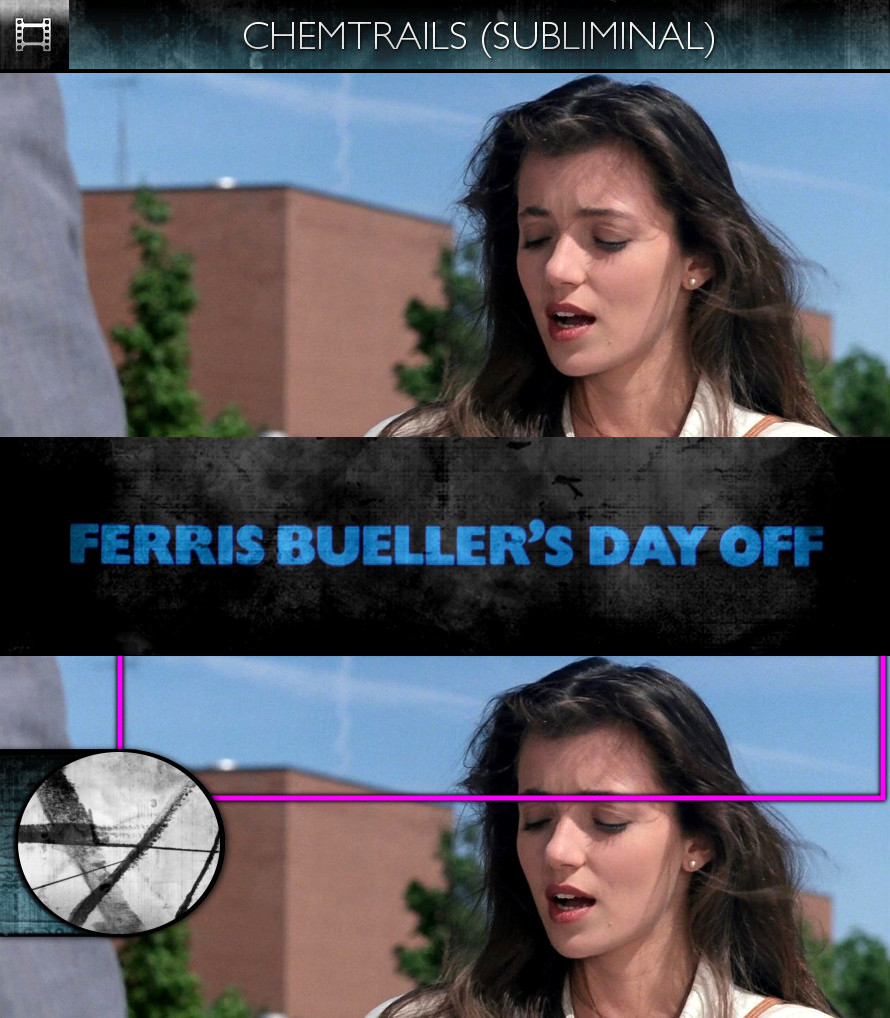 Ferris Bueller's Day Off (1986) - Chemtrails - Subliminal