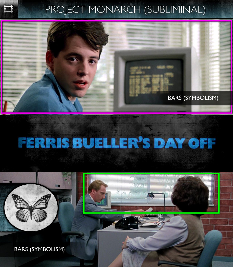 Ferris Bueller's Day Off (1986) - Project Monarch - Subliminal