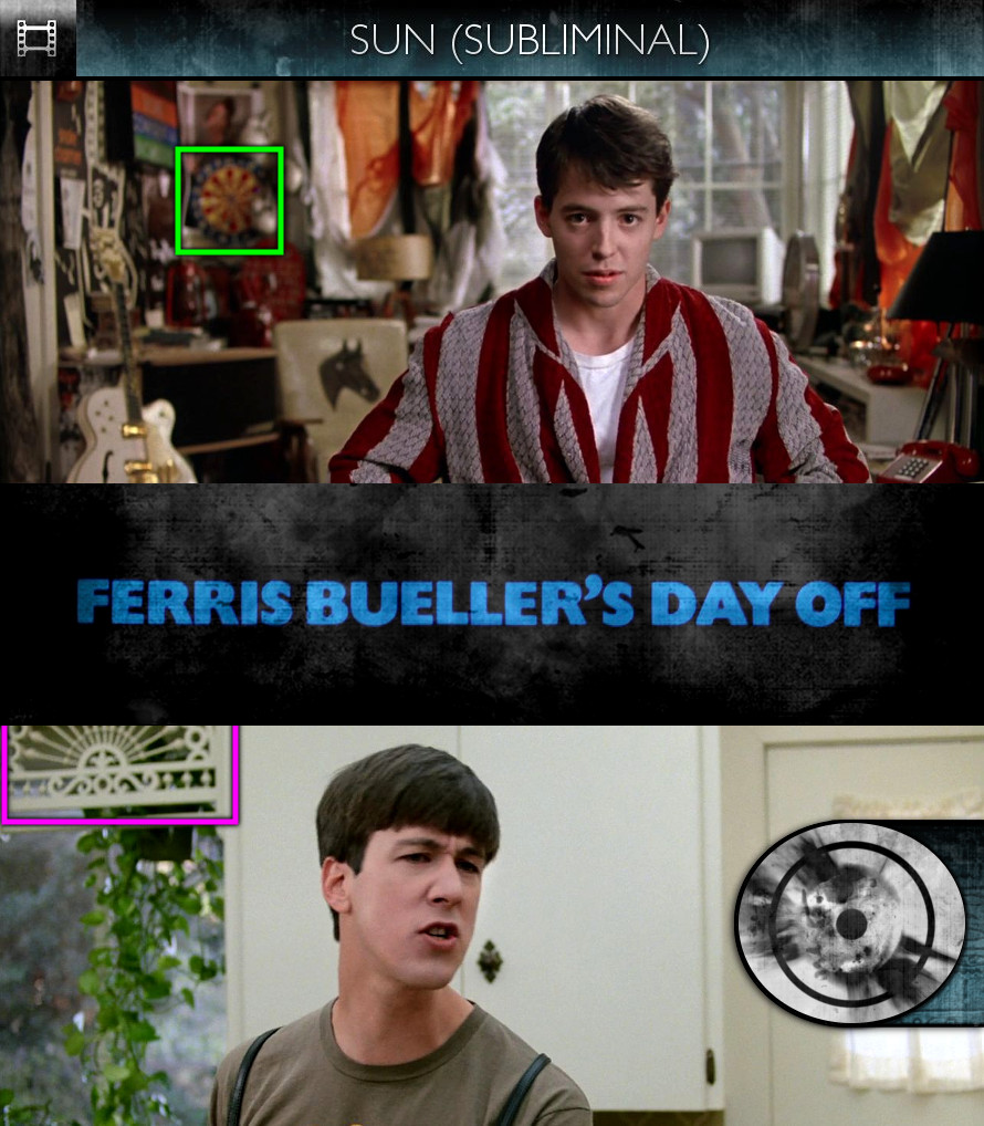 Ferris Bueller's Day Off (1986) - Sun/Solar - Subliminal